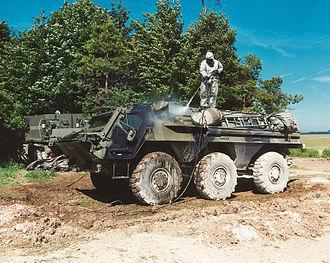Royal Tank Regiment - Image: British Army Fuchs