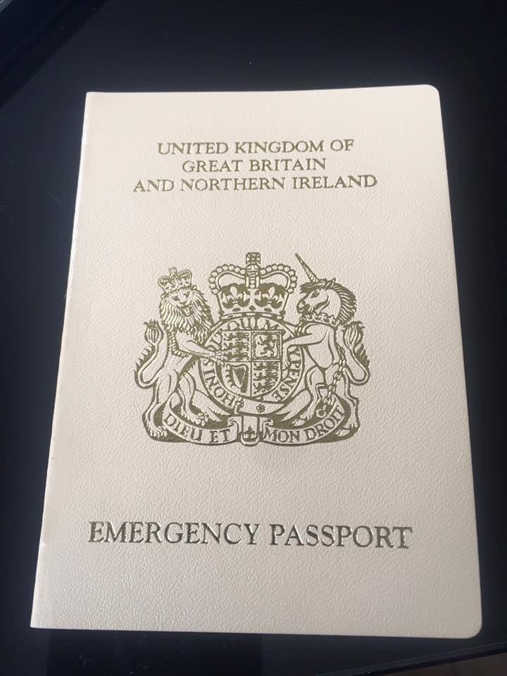 British Emergency Passport