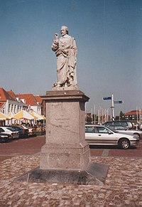 Brouwershaven Markt-Beeld Jacob Cats.jpg