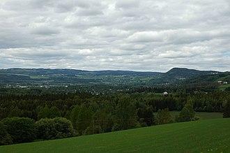 Brumunddal - Brumunddal viewed from the south