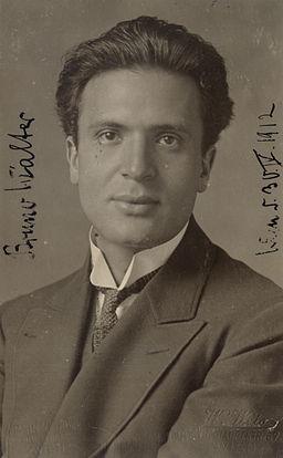 Bruno Walter Wien 1912