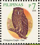 Bubo philippensis 2008 stamp of the Philippines.jpg