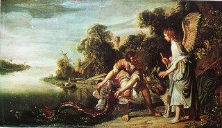 The Angel and the Young Tobit with the Fish