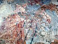 Buffalmacco, trionfo della morte, diavoli 09.JPG
