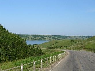 Saskatchewan Highway 2 - Sk Hwy 2 at Buffalo Pound Lake