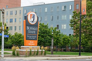 Buffalo State College Buffalo State, a SUNY campus located in Buffalo, NYs Elmwood Village, offers degrees in education, the arts, science, and professional studies.