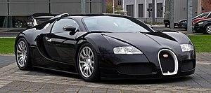 Energy efficiency in transport - Bugatti Veyron