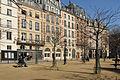 Buildings on Place Dauphine, Paris 5 March 2015.jpg