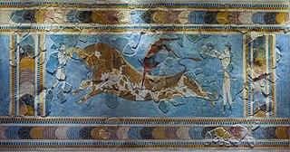 <i>Bull-Leaping Fresco</i>