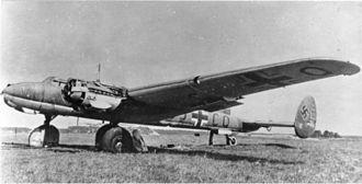 Messerschmitt Me 261 - Image: Bundesarchiv Bild 141 2474, Flugzeug Messerschmitt Me 261 V 2