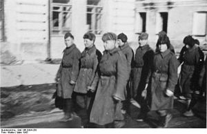 Belarusian Auxiliary Police - Belarusian Auxiliary Police in Mogilew, March 1943.