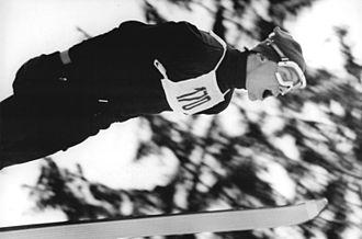 Ski flying - Henry Glaß, 1970