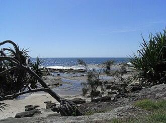 Bundjalung National Park - Lookout from Woody Head towards the Tasman Sea