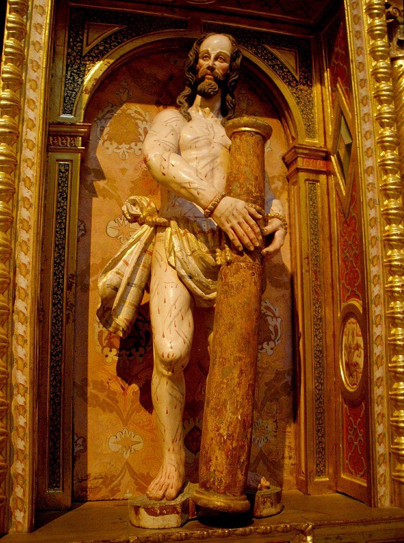 Burgos - San Esteban, Retablo de Cristo Resucitado 2.jpg