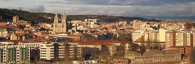 Burgos Desde La Antena Panorámica 1