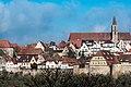Burgweg Panorama vom Mühlacker Rothenburg ob der Tauber 20180216 023.jpg