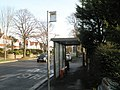 Bus stop by Ken's hairdressers - geograph.org.uk - 639439.jpg
