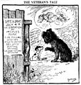 Bushnell cartoon about dogs being afraid of July 4 fireworks.jpg