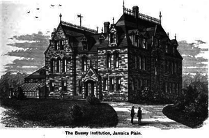 Bussey Institution - The Bussey Institution Building Circa 1881
