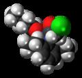 Butachlor molecule spacefill.png