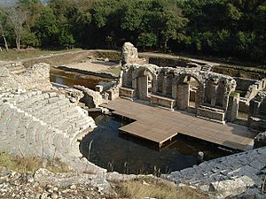 Remains of a theatre and part of the agora (Photo by Marc Morell)