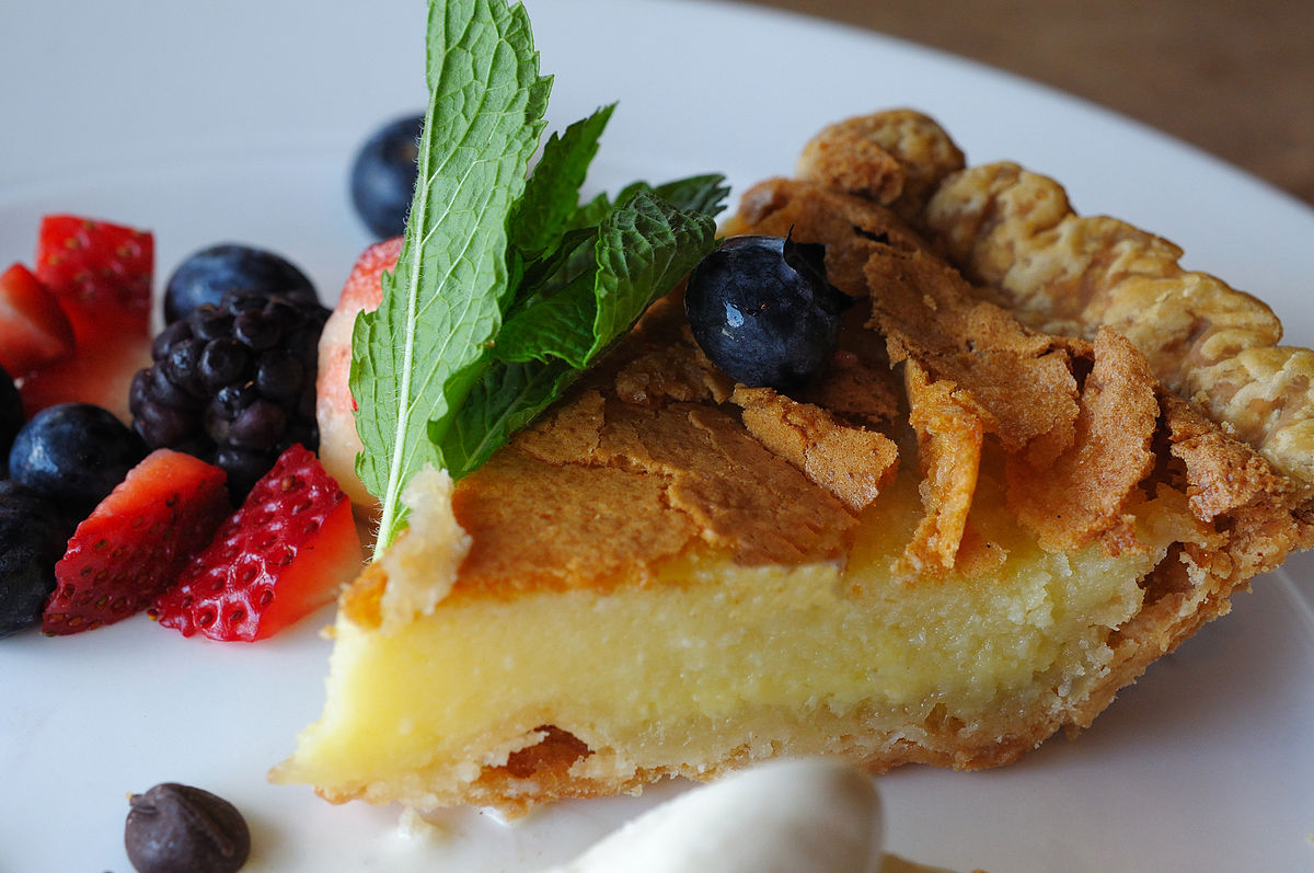 Buttermilk pie wikipedia for American cuisine wiki