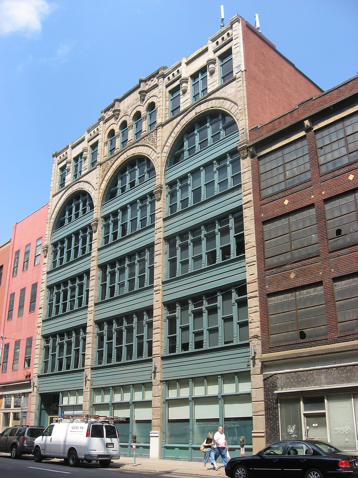 Byrnes & Kiefer Building - Wikipedia