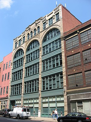 Strip District, Pittsburgh - Image: Byrnes & Kiefer Building