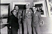 Cândido Portinari, Antônio Bento, Mário de Andrade e Rodrigo Melo Franco 1936.jpg