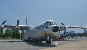 Air Mobility Command Museum - The last of the 50 C-133s on display at the AMC Museum in Dover, Delaware.
