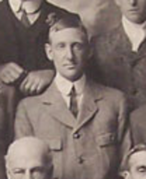 Charles Gordon Timms - C.G. Timms with the British Isles team in 1910