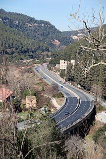 highway in Catalonia, Spain