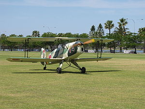 CASA 1-131E Jungmann at the SAAA Langley Park Fly-in October 2011.jpg