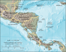CIA map of Central America.png