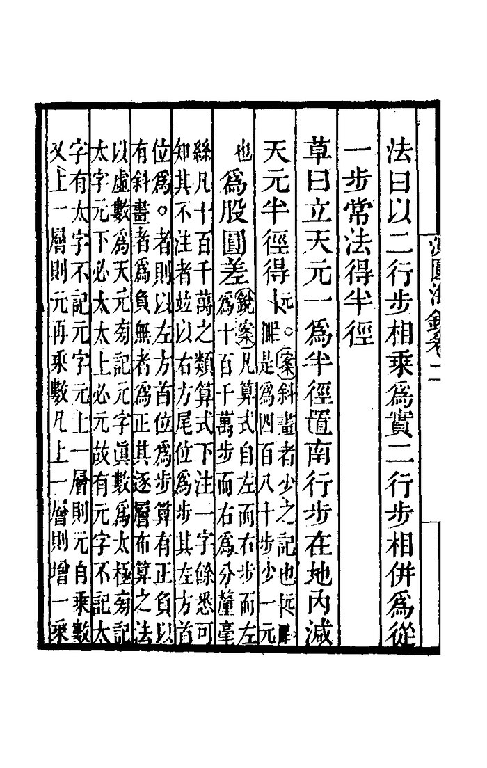 Ciyuan haijing vol II Problem 14 detail procedure (Cao Yue ) CIYUANHAIJINGXICAO-152-152.jpg