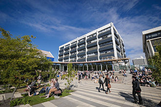 Otago Polytechnic - H Block of the Forth Street Campus