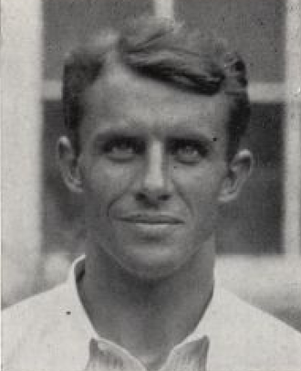Charles Rogers (American football coach) - Rogers pictured in The Blue Hen 1933, Delaware yearbook