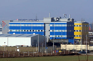 Croatia Airlines - Croatia Airlines head office in Buzin near Franjo Tuđman Airport, Zagreb