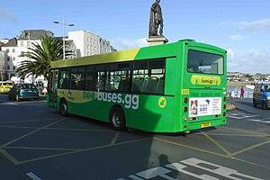 Transport in Guernsey - CT Plus Guernsey Bus
