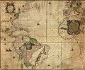 Ca. 1695 Dutch sea chart of the Atlantic Ocean.jpg