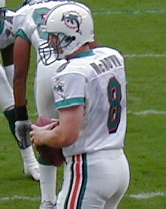 Cade McNown - McNown with the Dolphins in 2001.