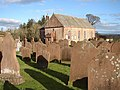 Caerlaverock Parish Church and Graveyard, Bankend - geograph.org.uk - 697679.jpg