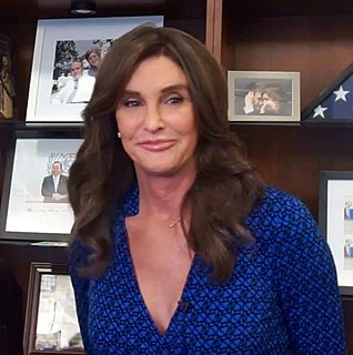 Caitlyn Jenner American reality television personality and retired Olympic decathlete champion