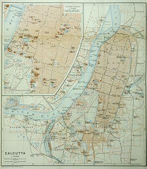 Calcutta (Baedeker, 1914)