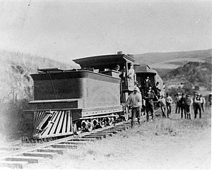 California and Nevada Railroad - Clancy's Cut