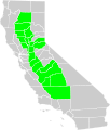 California Central Valley county map.svg
