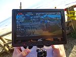California photo of control screen of a drone aircraft.JPG