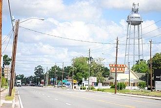 Callahan, Florida - Downtown Callahan