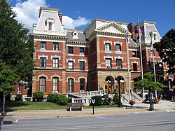 The Cambria County courthouse is in Ebensburg