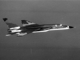 Camouflaged RA-5C of RVAH-13 over Tonkin Gulf 1966.jpg